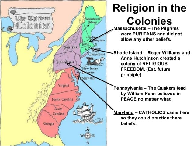 history of religion in american colonies Start studying american history chapter 4: religion in the american colonies learn vocabulary, terms, and more with flashcards, games, and other study tools.